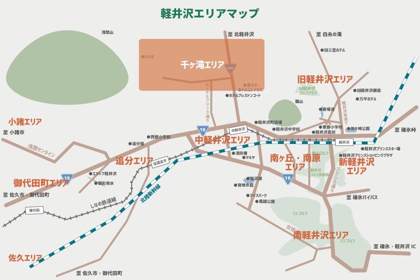 千ヶ滝 マップ