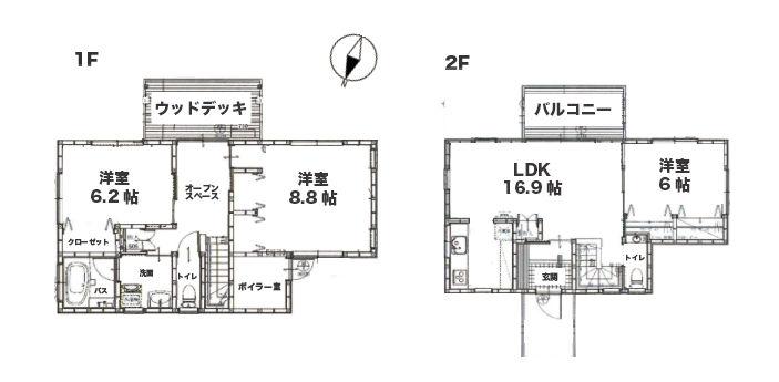 中軽井沢 新築物件