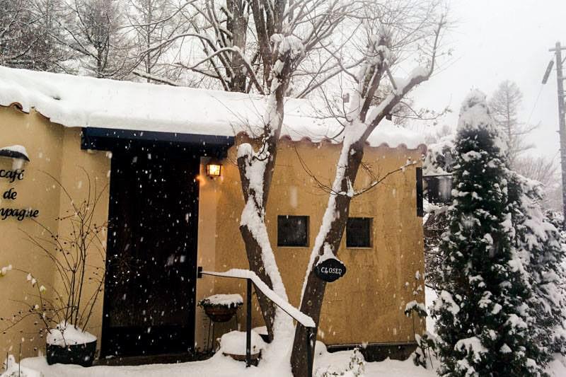 軽井沢 冬