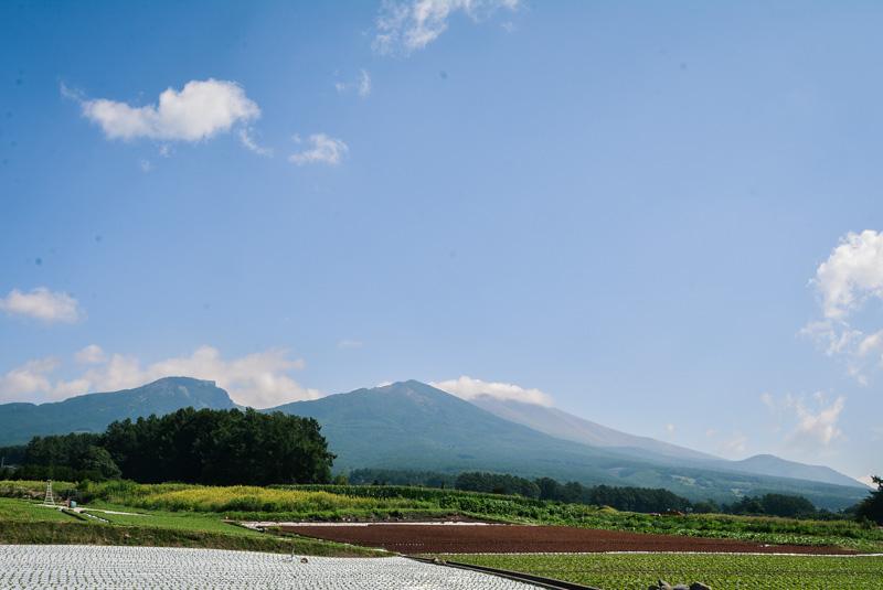 浅間山 絶景