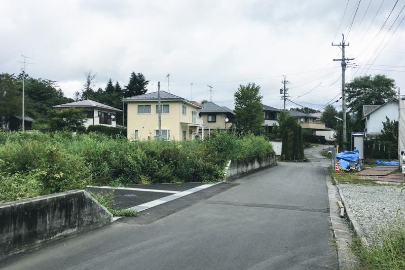 中軽井沢分譲地